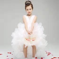 toddler wedding dresses aliexpress buy white baby wedding dress princess flower dresses kid