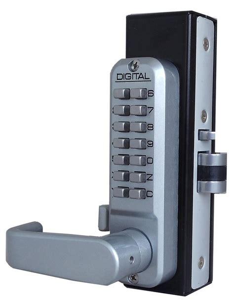 digital door lock lockey 2985dc keyless mechanical digital rite style