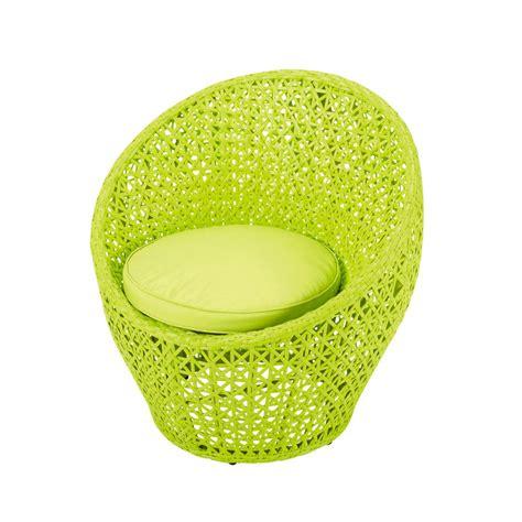 chambre bébé vert anis fauteuil de jardin en résine tressée vert anis durban