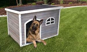 Extra large dog house groupon for Extra large dog houses for cheap