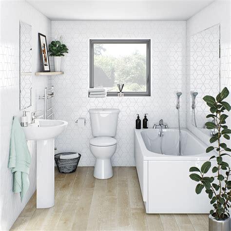 clarity straight bath suite victoriaplumcom