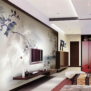 exquisite wall coverings from china With interior design for living room wall unit