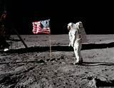 Fist man on the moon