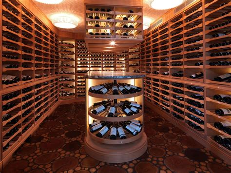 hand  astor wine cellar  revel custom wine cellars