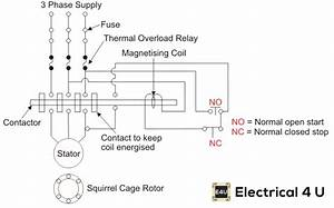 Wiring Diagram Of A Dol Starter