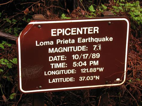 epicenter  loma prieta earthquake  ray krebs flickr