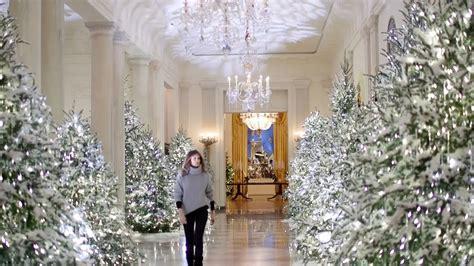 la navidad llega  la casa blanca de la mano de melania