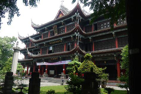 wenshu monastery monastery  chengdu thousand wonders