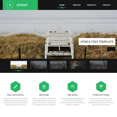 Blackand White Template Joomla Mediafire by Sprint Is A Multi Purpose Bootstrap Theme Designed By