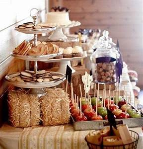 preparing for a bridal shower pay your attention to With rustic wedding shower decorations