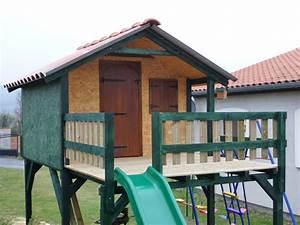 Cabane Pour Enfant Pas Cher : cabane en bois pour enfants pas cher ~ Melissatoandfro.com Idées de Décoration