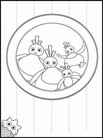 Twirlywoos Coloring Printable Drawing Websincloud Dessins Tegninger
