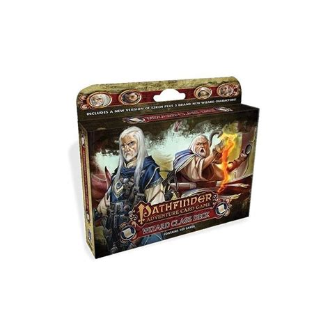 Pathfinder Harrow Deck Archetypes by Paizo Publishing Pathfinder Wizard Class Deck