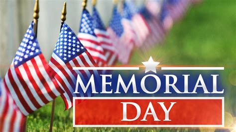 Events planned for Memorial Day