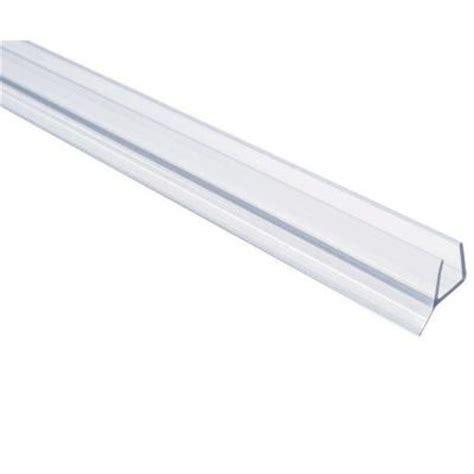 frameless shower door seal showerdoordirect 98 in l frameless shower door seal for 1
