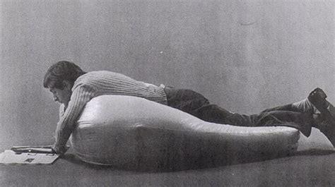 Zanotta Poltrona Anatomica Sacco Design By Gatti, Paolini