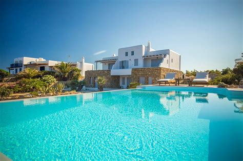 Mykonos Villa Paradise Ii 5 Bedroom Villa For Rent In