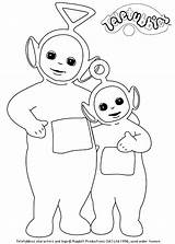 Teletubbies Coloring Pages Episodes Coloring2print sketch template