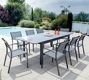 Table De Jardin Super U : table de jardin plateau en verre brisbanne u ~ Dailycaller-alerts.com Idées de Décoration
