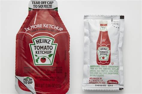 Heinz Creates New Ketchup Packet Dip And Squeeze Wsj