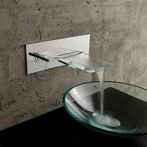 Robinet Lavabo Cascade : le robinet cascade en 70 photos ~ Edinachiropracticcenter.com Idées de Décoration