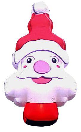 babbo natale illuminato testa santa claus illuminato gonfiabili natalizi