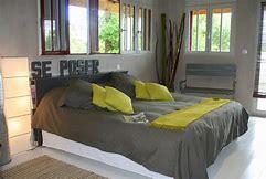 Stunning Chambre A Coucher Gris Et Jaune Photos - lalawgroup.us ...
