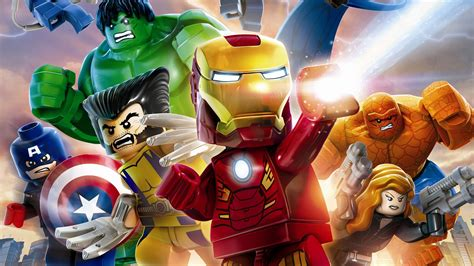 lego marvels avengers wallpapers  ultra hd  gameranx