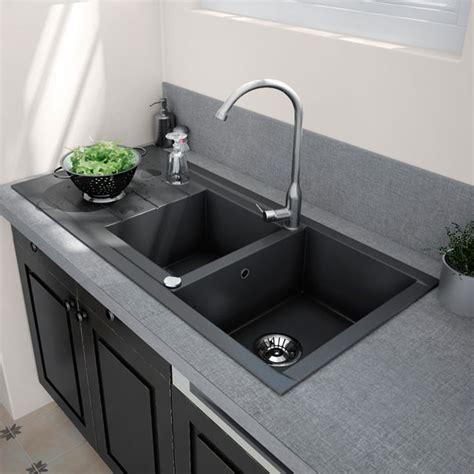 evier cuisine blanc evier cuisine blanc resine cuisine idées de décoration de maison pklq7w5bra