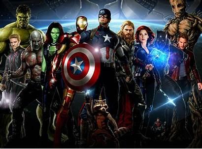 Avengers Infinity War Wallpapers Marvel Action Fighting
