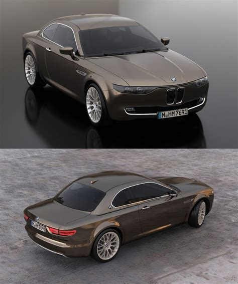 Bmw Cs Vintage Concept  Car Body Design