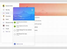 Microsoft ToDo is a new app that replaces Wunderlist