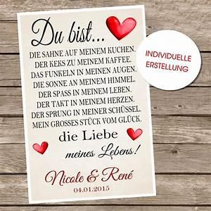 Valentinstag Geschenk Liebe Hochzeitstag Jahrestag Oder