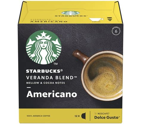 If you are new to buying starbucks k cups, try this roast spectrum variety pack. Buy STARBUCKS Dolce Gusto Veranda Blend Americano Coffee Pods - Pack of 12 | Free Delivery | Currys