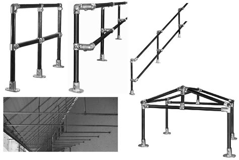 Banister Railing Parts by Rail Slip On Fittings