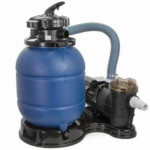 2400gph 13 U0026quot  Sand Filter  35 Hp Above Ground Swimming Pool Pump Intex Compatible