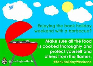 We are prepared for the August bank holiday weekend. Are you?