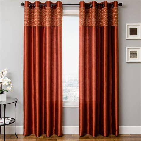 burnt orange curtains drapes best 25 burnt orange curtains ideas on burnt