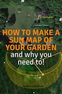 sun mapping your garden home vegetable garden organic