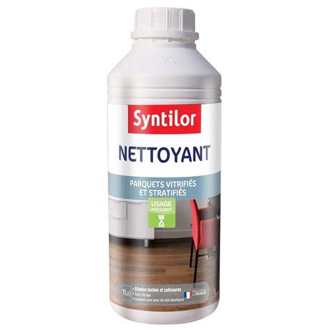 produit pour nettoyer carrelage nettoyant parquet stratifi 233 et vitrifi 233 syntilor 1 l