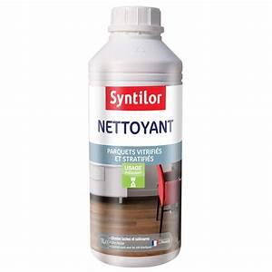 nettoyant parquet stratifie et vitrifie syntilor 1 l With produit pour puce de parquet