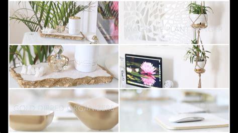 diy desk home office decor ideas youtube