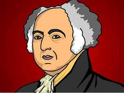 Adams John Brainpop Cartoons Drawing American Revolution