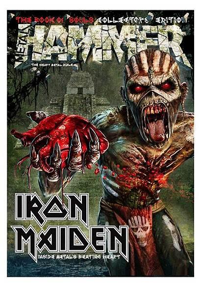 Metal Hammer Iron Maiden Magazine Eddie 3d