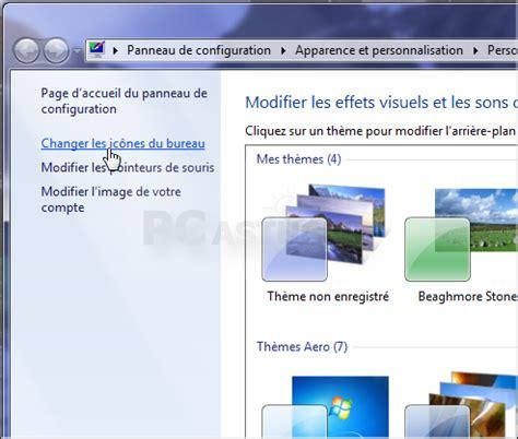 icones bureau windows 7 ajouter ou retirer des icônes système du bureau windows