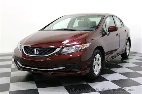 The petrol engines on offer are cracking. 2014 Used Honda Civic Sedan CERTIFIED CIVIC LX at ...
