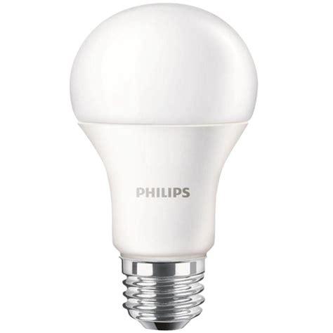 led light daylight philips 100w equivalent daylight a19 led light bulb 455717