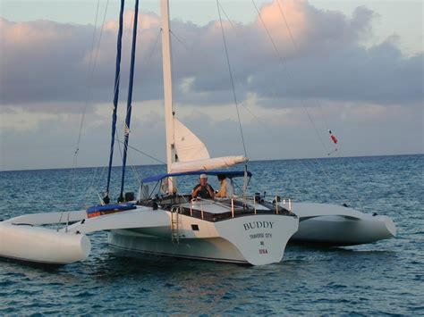 Trimaran Dinghy by Chapter Trailerable Trimaran Plans Boat Plan