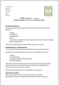 Ecrire Resume En Francais by Comment R 233 Diger Votre Cv En Tunisie