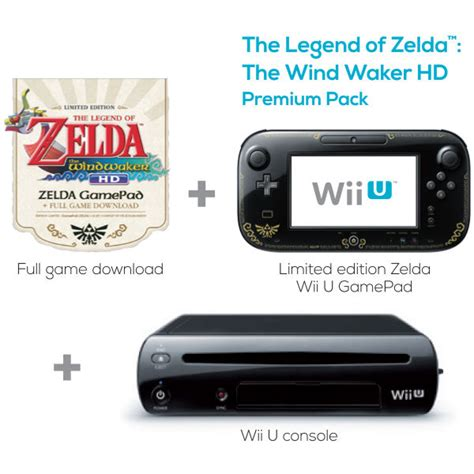 The Legend Of Zelda The Wind Waker Hd Wii U Premium Pack